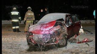 Под Тулой в массовом ДТП столкнулись семь машин
