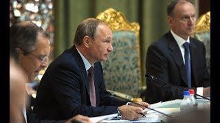 Путин на заседании Совета коллективной безопасности. Полное видео