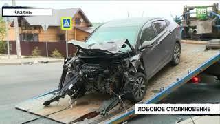2 человека пострадали в результате аварии на улице Сабит - ТНВ