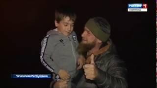 """Пятилетний атлет из Чечни отжался 4105 раз и получил """"Мерседес"""""""