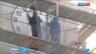 Завершаются работы по реставрации Дома связи