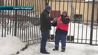В центре Петербурга пожилую женщину убило сосулькой