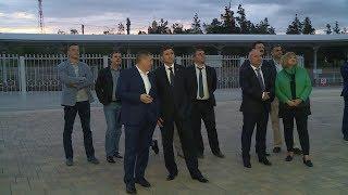 Волгоград посетил министр природных ресурсов и экологии России Дмитрий Кобылкин