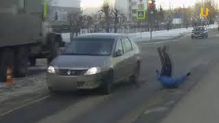 UTV. В центре Уфы «Рено Логан» сбил женщину