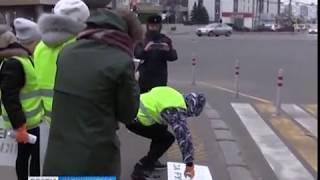 Юные инспекторы дорожного движения обратились к жителям Калининграда