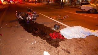 Ужасное ДТП. Автомобиль снёс макси скутер. Днепр