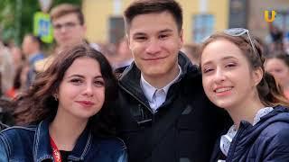 5000 выпускников станцевали в Уфе Весенний бал