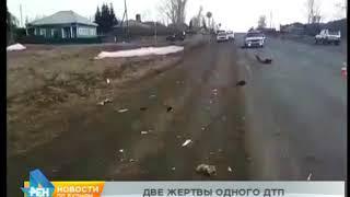 Водитель сбил насмерть двух женщин и скрылся с места ДТП в Тулунском районе