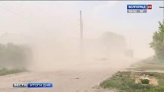 Порывы ветра в Волгоградской области могут достигнуть штормовых значений