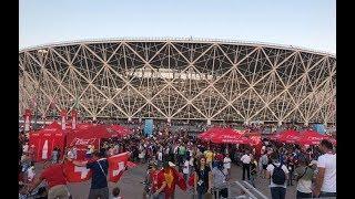 «Волгоград Арена» принимает свой первый матч ЧМ-2018