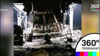 Опубликованы первые фото сгоревших помещений ТЦ «Зимняя вишня»