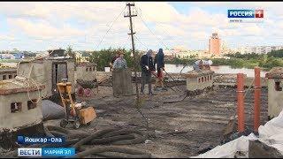 Крыша до сих пор течет: жители дома в Йошкар-Оле ждут завершения ремонта