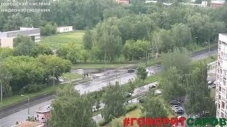ДТП, Саров, перекресток пр Музрукова ул  Строителя Захарова, 13 июня 2018