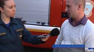 Симферополец спас женщину и ребёнка при пожаре