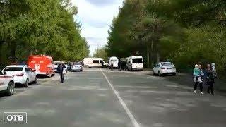 В Екатеринбурге 17 человек пострадали в столкновении «Нексии» с маршруткой