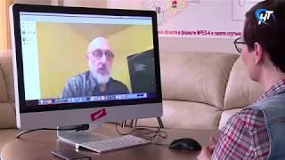 Интервью с кинорежиссером Леваном Габриадзе по скайпу