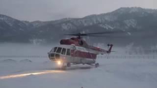 Поиски вертолета Робинсон, Телецкое озеро