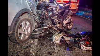 Смертельное ДТП под Днепром: мотоциклист скончался на месте, а девушку увезла скорая