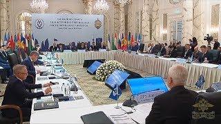 Владимир Колокольцев принял участие в заседании Совета министров внутренних дел государств