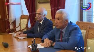 Врио главы РД встретился с чрезвычайным и полномочным послом РФ в Государстве Эритрея