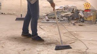 Журналисты республики помогают на строительстве кадетского корпуса