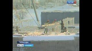 Московский мост в Чебоксарах строят с опережением сроков