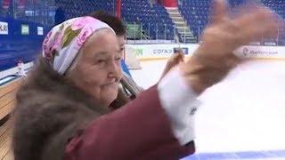 Самая преданная болельщица: «Салават Юлаев» поддерживает бабушка, которой исполнилось 92 года