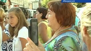 В Феодосии прошел праздничный концерт МВД