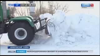 В Кузбассе на борьбу со снегом вышли тысячи волонтёров