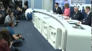 Ксения Собчак дала 2,5-часовую пресс-конференцию