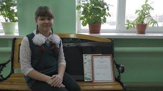 Школьница из Волгоградской области покорила культурную столицу России картиной о родном крае
