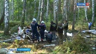 Крушение легкомоторного самолёта в Новосибирске. Главное
