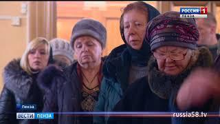 В пензенских церквях отслужили панихиды по погибшим в Кемерове