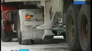 Снегопад, метели и пробки. Участок трассы в Шелеховском районе закрыли для большегрузов