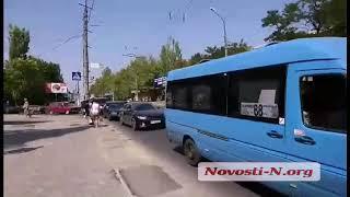 """Видео """"Новости-N"""": В Николаеве ДТП на проспекте Мира"""