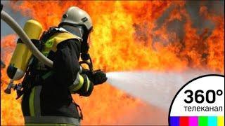 В Доме Ленинградской торговли произошло возгорание
