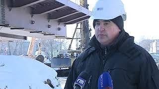 Начался новый этап строительства Комсомольского моста в Ярославле