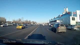 Кутузовский проспект, 18.03.2018 17:03. авария дтп