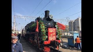 В Астрахань с концертной программой прибыл ретро-поезд «Воинский эшелон»