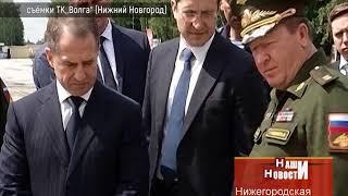 """Михаил Бабич открыл лагерь """"Гвардеец 1"""""""