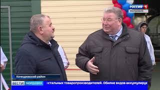 Владимир Волков открыл в Кочкуровском районе новый завод по переработке молока