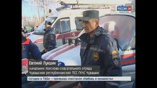 Экстренные службы республики показали, как будут обеспечивать безопасность людей на водоемах зимой