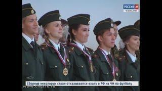 В Чебоксарах сорока семи выпускникам Детской полицейской академии торжественно вручили свидетельства