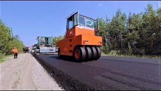 Нефтяники помогают строить дороги