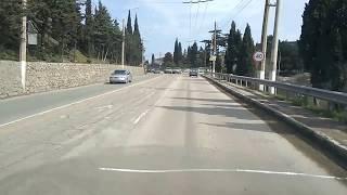 ДТП Алушта 20.03.2018 поворот на ул.Туристов