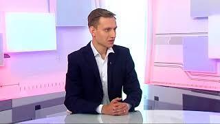 """Программа """"В центре внимания"""" интервью с Ильей Копоть ."""