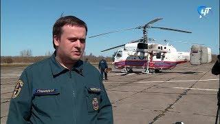 Режим чрезвычайной ситуации вводится на территории всей Новгородской области