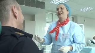 Массовой сдачей крови отметили Всемирный день донора сотрудники Росгвардии ЕАО(РИА Биробиджан)