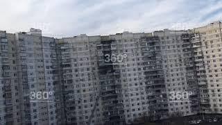 В Митино произошел пожар в многоэтажке