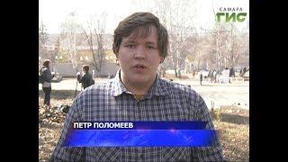 Благоустройством парка Щорса занялись студенты ссузов и вузов